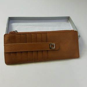 NWT Lodis Artemis RDIF Leather Credit Card Case